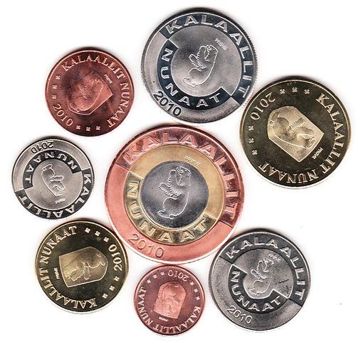 monedas 8 groenlandia