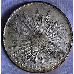 a2e645a5a729 Moneda 8 R Culiacan 1850 C E Plata Escasa Envio Gratis