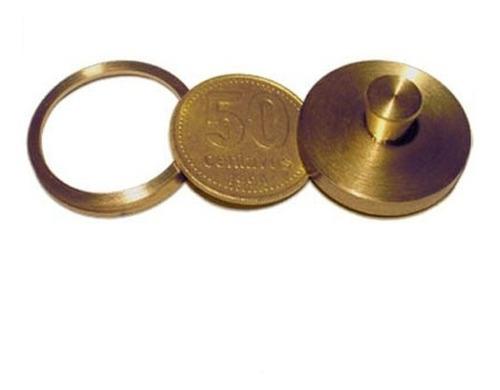 monedas a través de la mano bronce magia / alberico magic