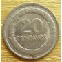 Moneda Colombia 20 C Error Doubled Die Overstrike 1968 Rara
