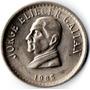 Moneda 50 Centavos 1965 Colombia Conm. Gaitán No Circulada