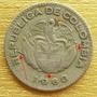 Moneda Colombia 10 Centavos Error Die Chip O Cud 1963 Rara