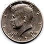 Moneda Half Dollar Kenedy 1973 Usa Estados Unidos Oferta