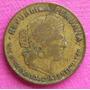 Moneda Peru 10 Centavos 1944 En Letras Muy Rara