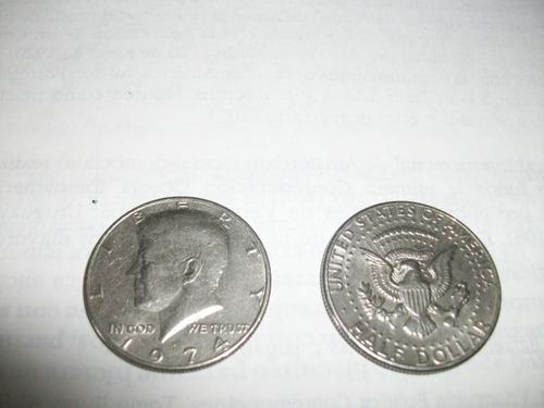 monedas antigua lote fuera circulación usa 1974