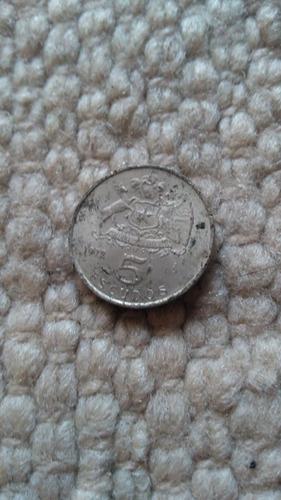 monedas antiguas 5 escudos chilenos 1975