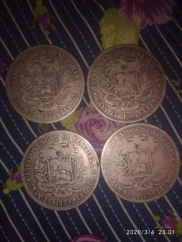 monedas antiguas de 1904, 1935 y 1929