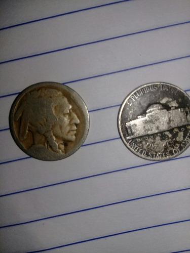 monedas antiguas de 5 centavos de 1940 estado unidense