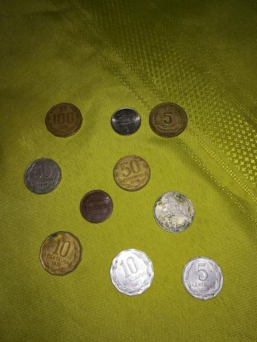 monedas antiguas de chile