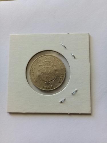 monedas antiguas de costa rica,25 centimos años35/37/48,rema