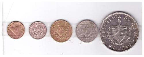monedas antiguas de cuba-lote escucho ofertas