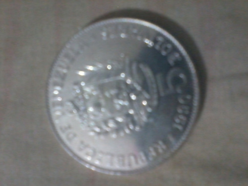 monedas antiguas de venezuela de 1989 y 1990 de 5 bolivares