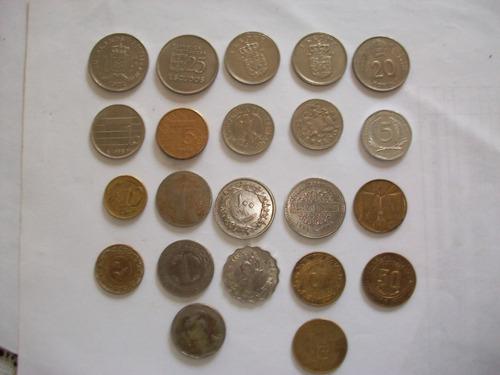 monedas antiguas fuera de circulaccion