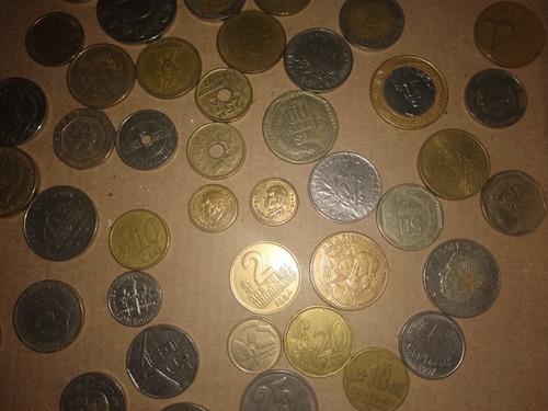 monedas antiguas y de varios países