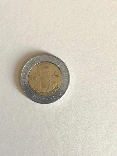 monedas centenario y bicentenario