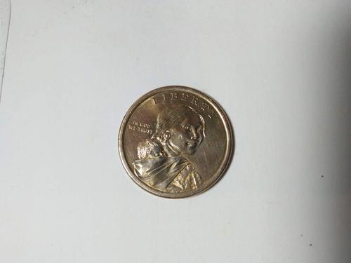 monedas colección nativo americano, dragón chino  (cu-ni-zn)