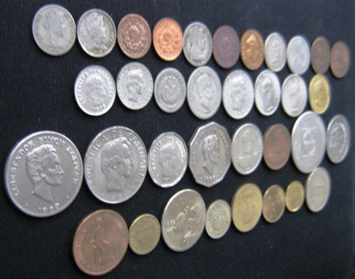 monedas colombia colección