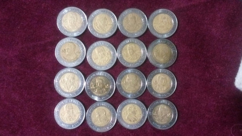 monedas conmemorativas de $5