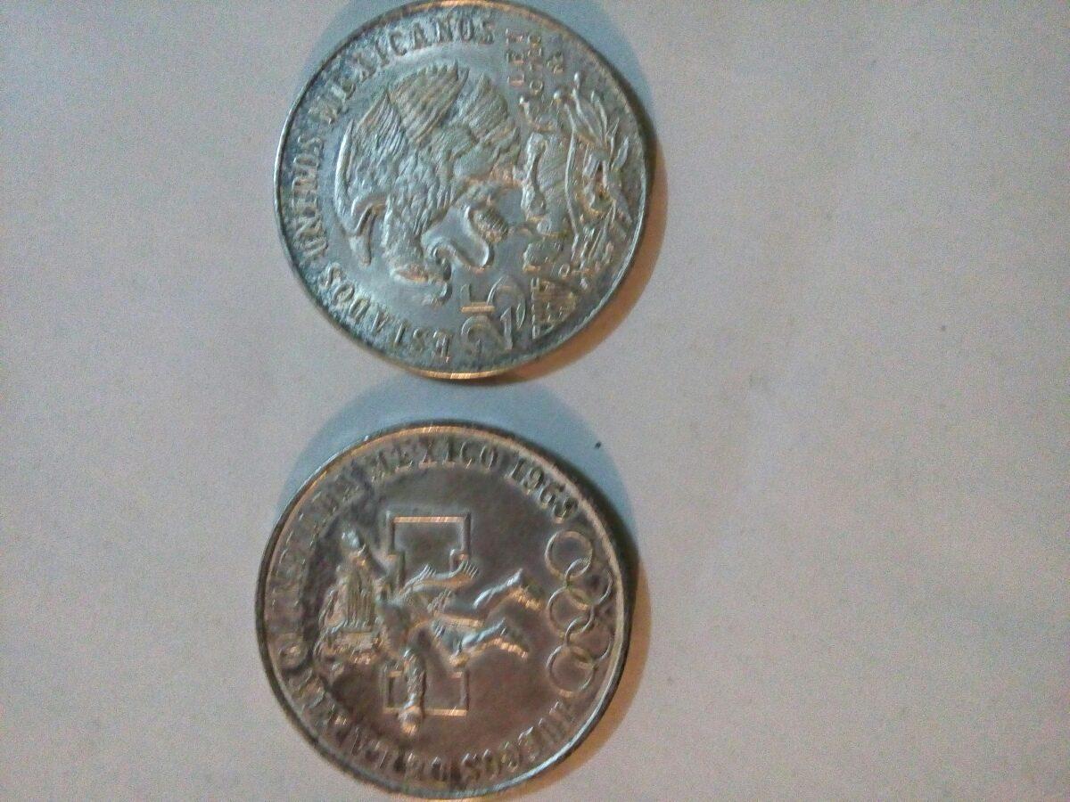 Monedas Conmemorativas Juegos Olimpicos De 1968 1 300 00 En