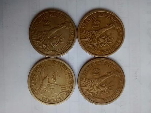 monedas de 1 $ dolar conmemorativas