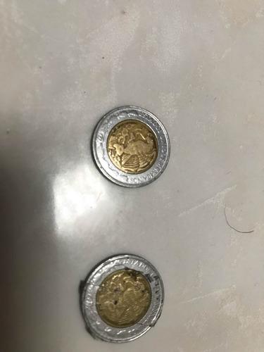 monedas de 1 peso mexicano del 1995 el par
