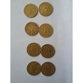 Monedas De 10 Pesos Chilenas Antigua