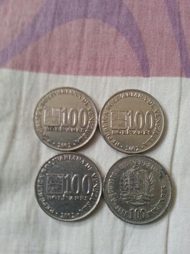 monedas de 100 bolivares de 1999