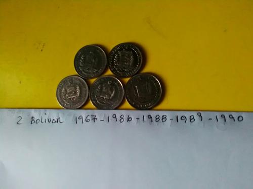monedas de 2 bs fuera de circulacion