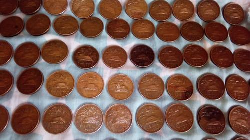 monedas de 20 centavos mexicanos cobre 10 pesos c una