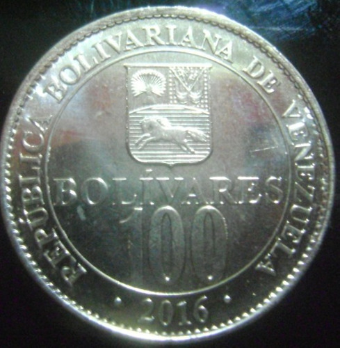 monedas de 2016 dificil, de 10,50 y 100  por bs. 10._