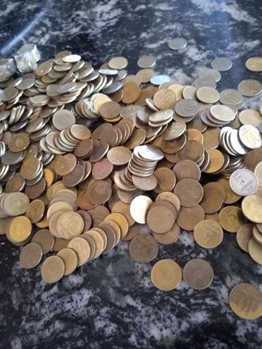 monedas de 5 10 25 y 50 centavos