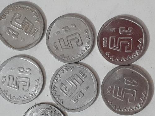 monedas de 5 centavos