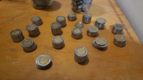 monedas de 5 pesos conmemorativas