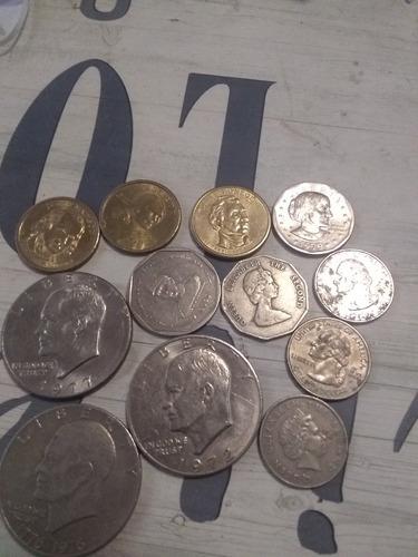 monedas de años atrazados desde el 1776 en adelante
