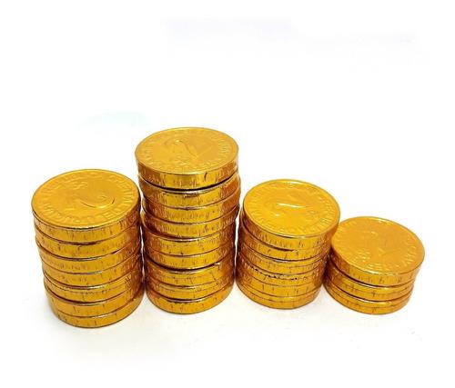 monedas de chocolate chicas x 25 unidades