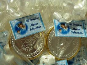 Bolos Para Bautizo Con Monedas.Monedas De Chocolate Con Repujado Para Bolo De Bautizo 7 50