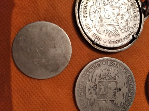 monedas de colección doblón venezolano y bicentenario