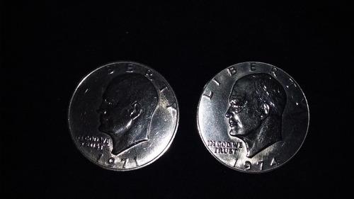 monedas de dollar
