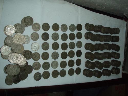 monedas de morelos 1 peso años 47 al 67