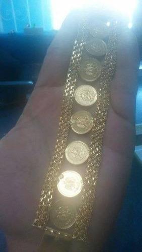 monedas de oro