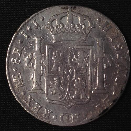 monedas de plata colonial 8 reales de.1796 i 1799 both lima