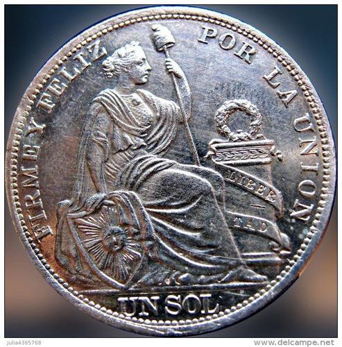monedas de plata dinos, 1/5 de sol, 1/2 sol y un sol. vendo.