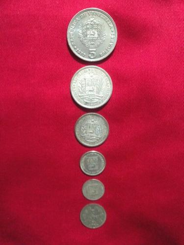 monedas de plata venezolanas