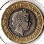 Moneda 2 Pounds - Inglaterra 2001 2 Lbs Diam. 2,8cm Oferta