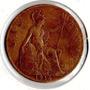 Moneda 1 Penny 1916 Inglaterra Diam 3cm Oferta