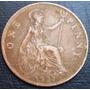 Moneda One Penny Inglaterra 1927 Diam. 3cm Oferta