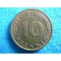 3 Pfenigg De 10 Alemanes Años 1949-1950