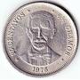 Ch Moneda De República Dominicana 25 Centavos Año 1976