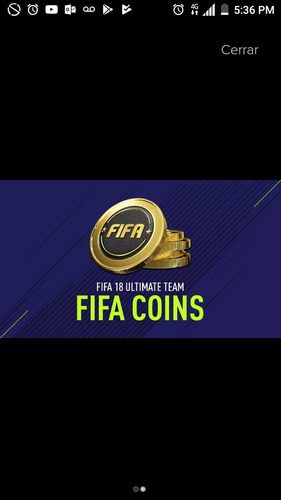 monedas fifa 18 ultimate team