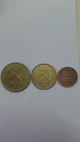 monedas finlandia 1965